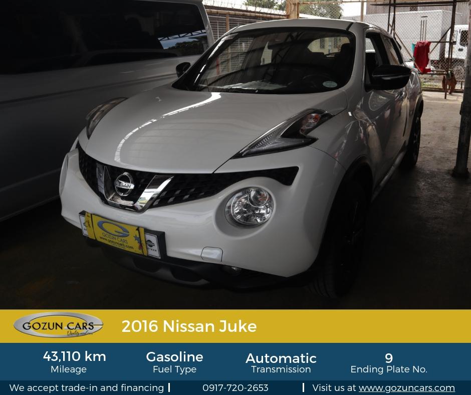 Nissan Juke 2016: Gozun CarsGozun Cars